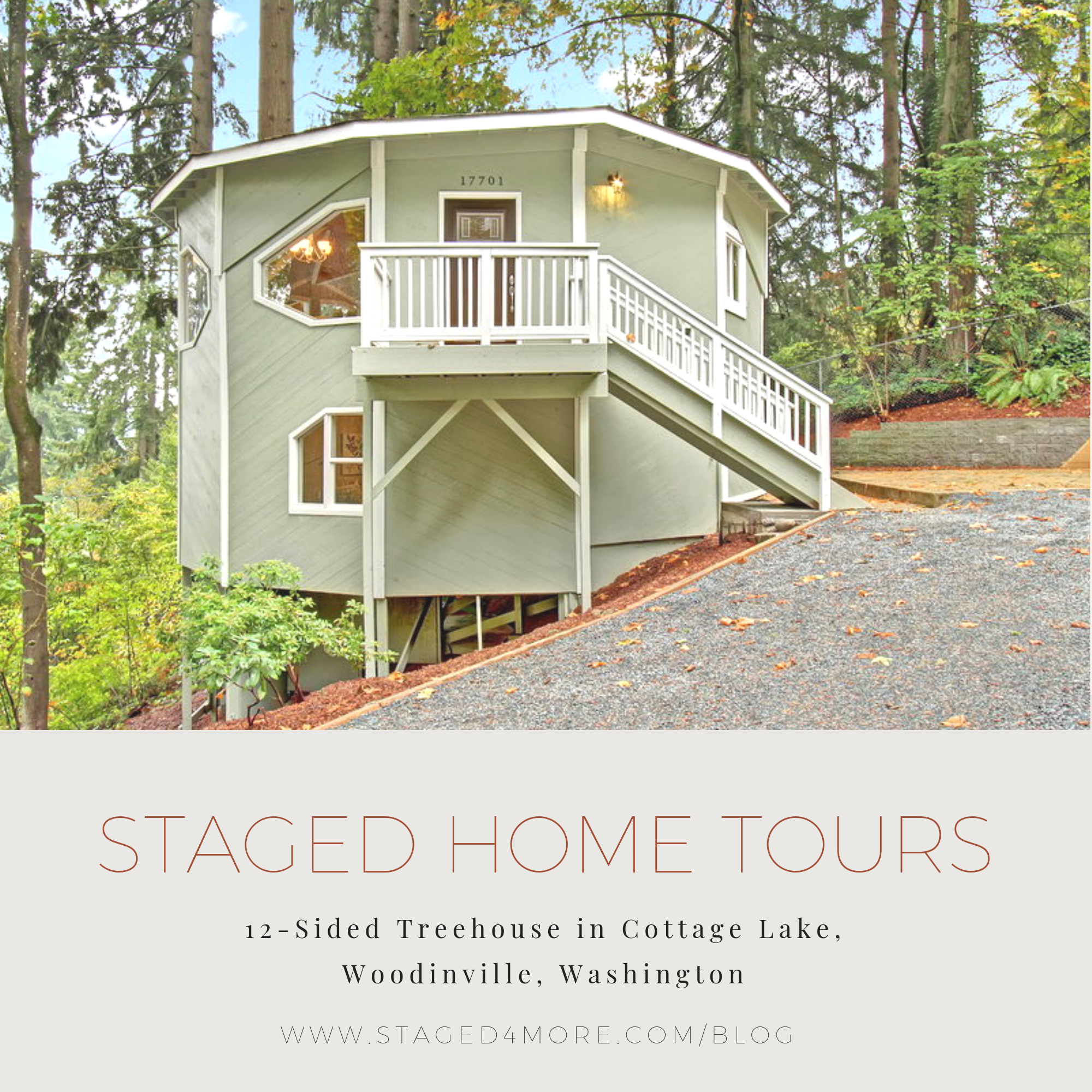 Staged4more Staged Home Tour Woodinville Cottage Lake Washington Tree House