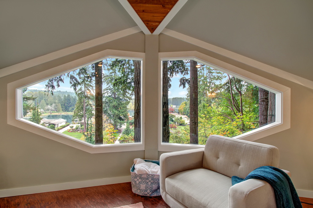Staged4more Staged Home Tour: 12-Sided Treehouse in Cottage Lake Woodinville Washington