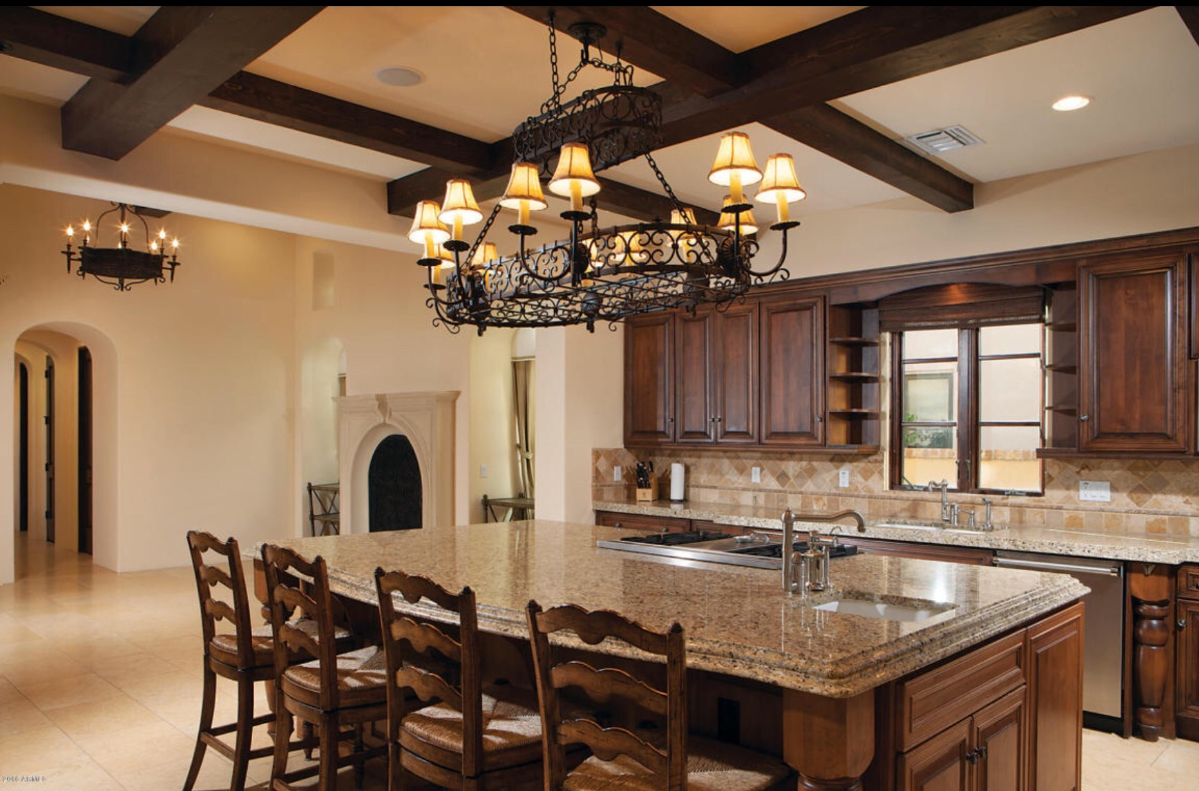 Staged Home Tour: $2.2 Million Tuscan Style Luxury Arizona Home 2 Before.jpg