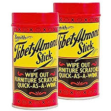 I learned about this from an old furniture dealer and we were hooked ever since! It's easy to use and lasts FOREVER. The one in our kit is 8 years old and is still working! I had taken out some very tough furniture scratches with this product.