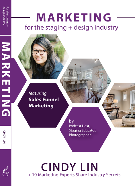 Written with 9 other expert stagers in the field, together, we shared all of our expertise on how to market in the home staging industry.