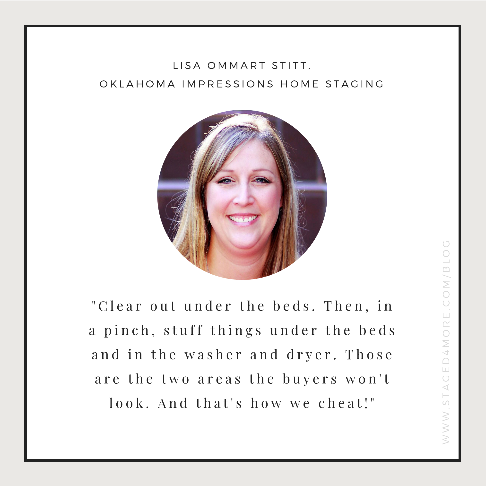 How to live in a staged home. Expert tips from Lisa Ommart Stitt of Oklahoma Impression Home Staging. Home staging blog by Staged4more School of Home Staging