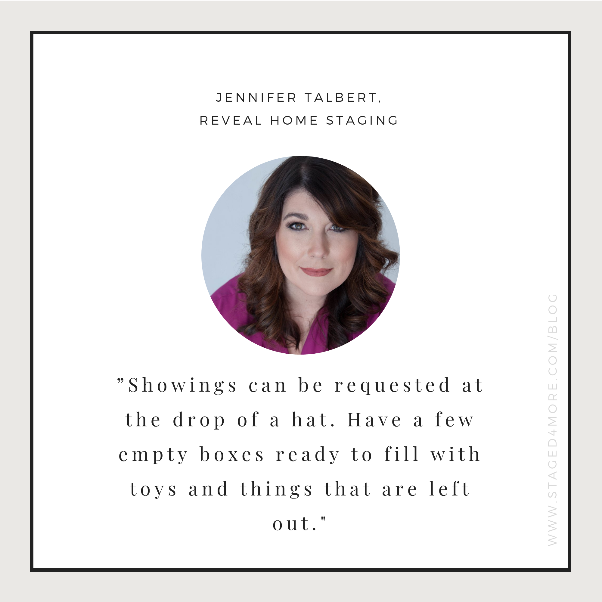How to live in a staged home. Expert tips from Jennifer Talbert of Reveal Home Staging. Home staging blog by Staged4more School of Home Staging