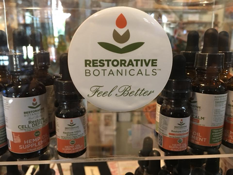 We love carrying locally made offerings in the interest of promoting improved health & wellness, such as an array of Restorative Botanicals products made in Longmont.
