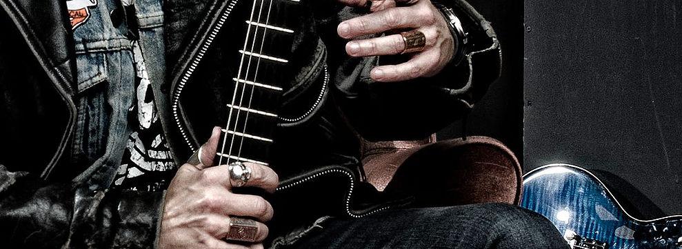 Michael Strausbaugh - Close up of Guitar