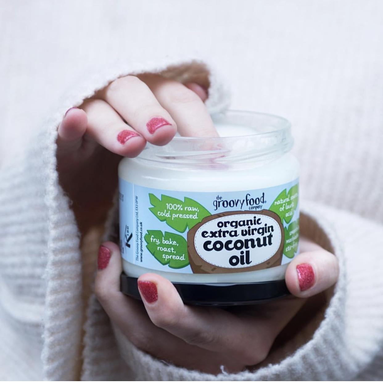 The Groovy Food Company Organic extra virgin Coconut oil
