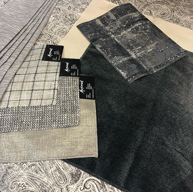 I love seeing presentations of Maxwell Fabrics by @dansmallman Look at these beautiful combinations!😍