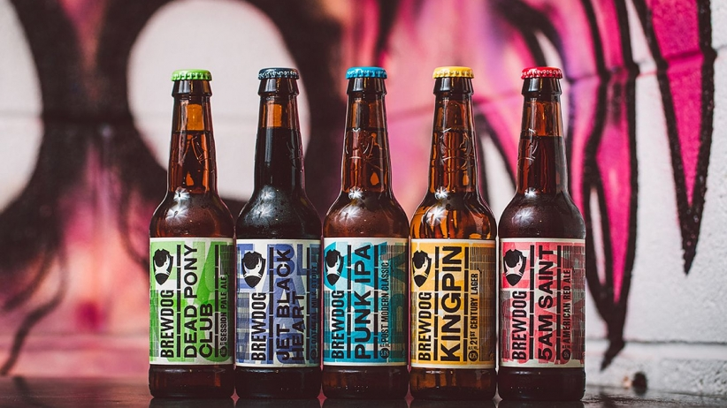 BrewDog's Lineup of Craft Beer