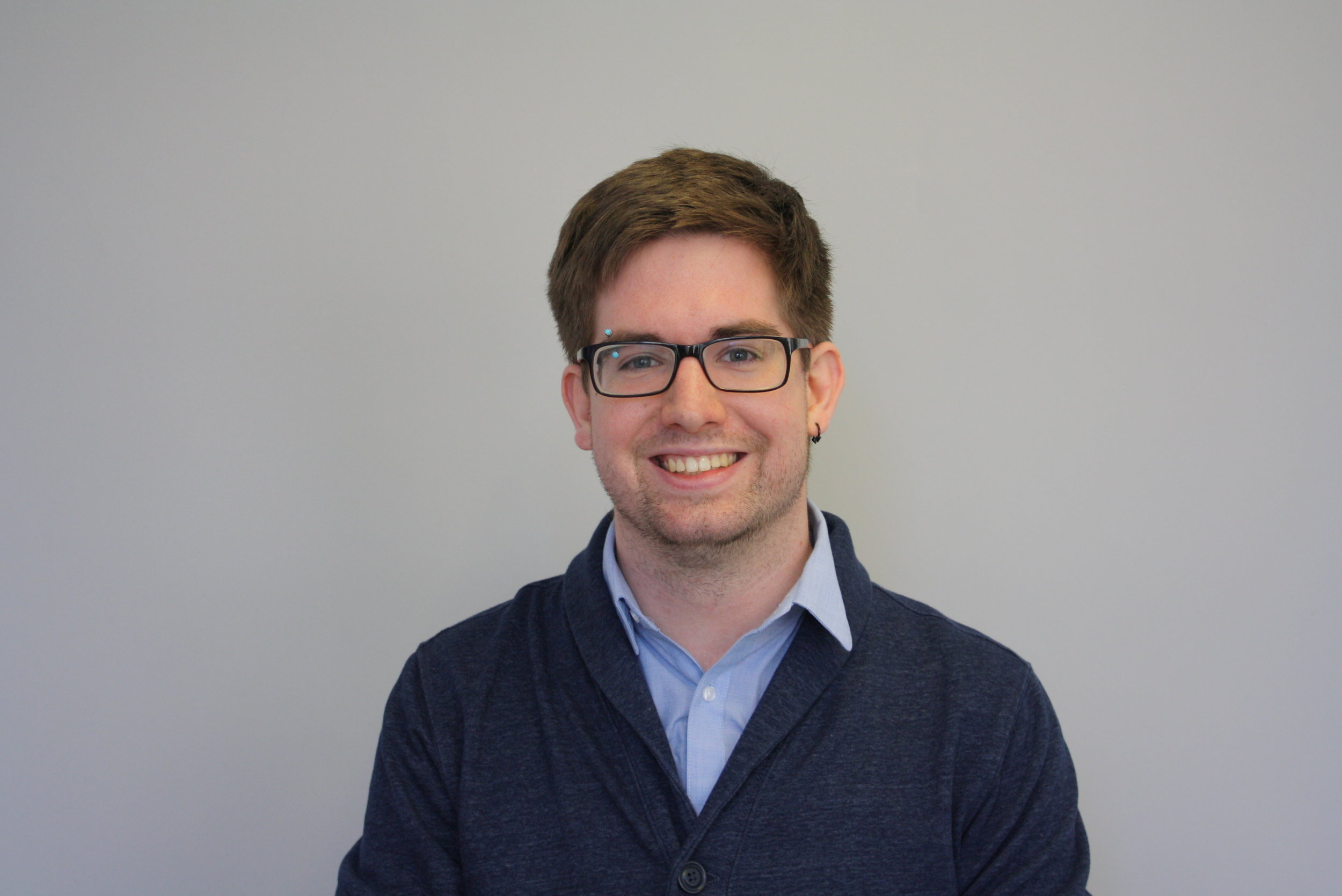 Jared Wolf - Jared Wolf is the Media Manager at Crisis Text Line, where he was previously a Crisis Counselor Trainer. His hobbies include stand-up comedy and playing the piano.