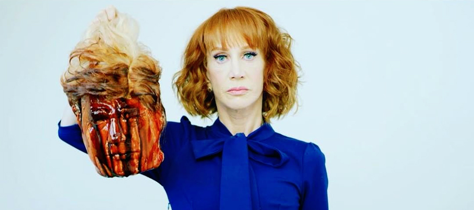 Kathy Griffin proves, for the left, Hate is the new humor.