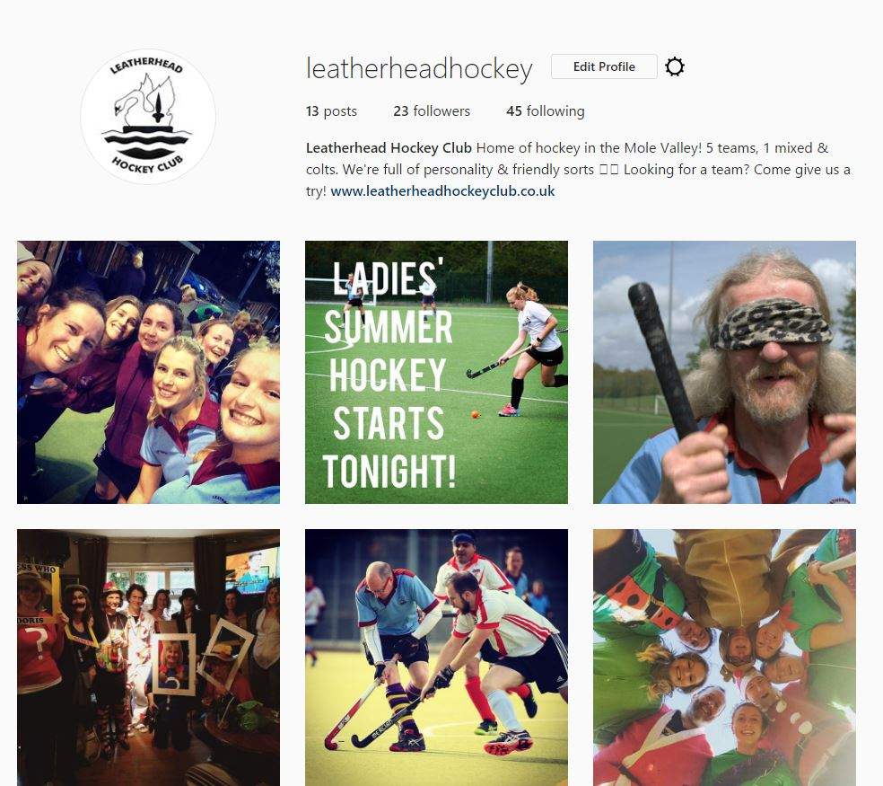 LHC has Instagram! - Follow us to keep up to date with what's going on in the club!
