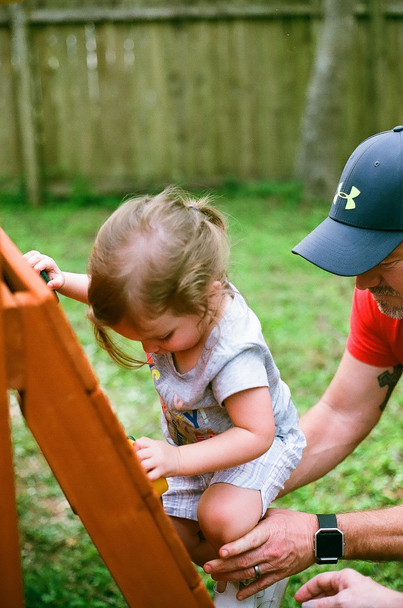 Big Daddy, teach me how to climb!