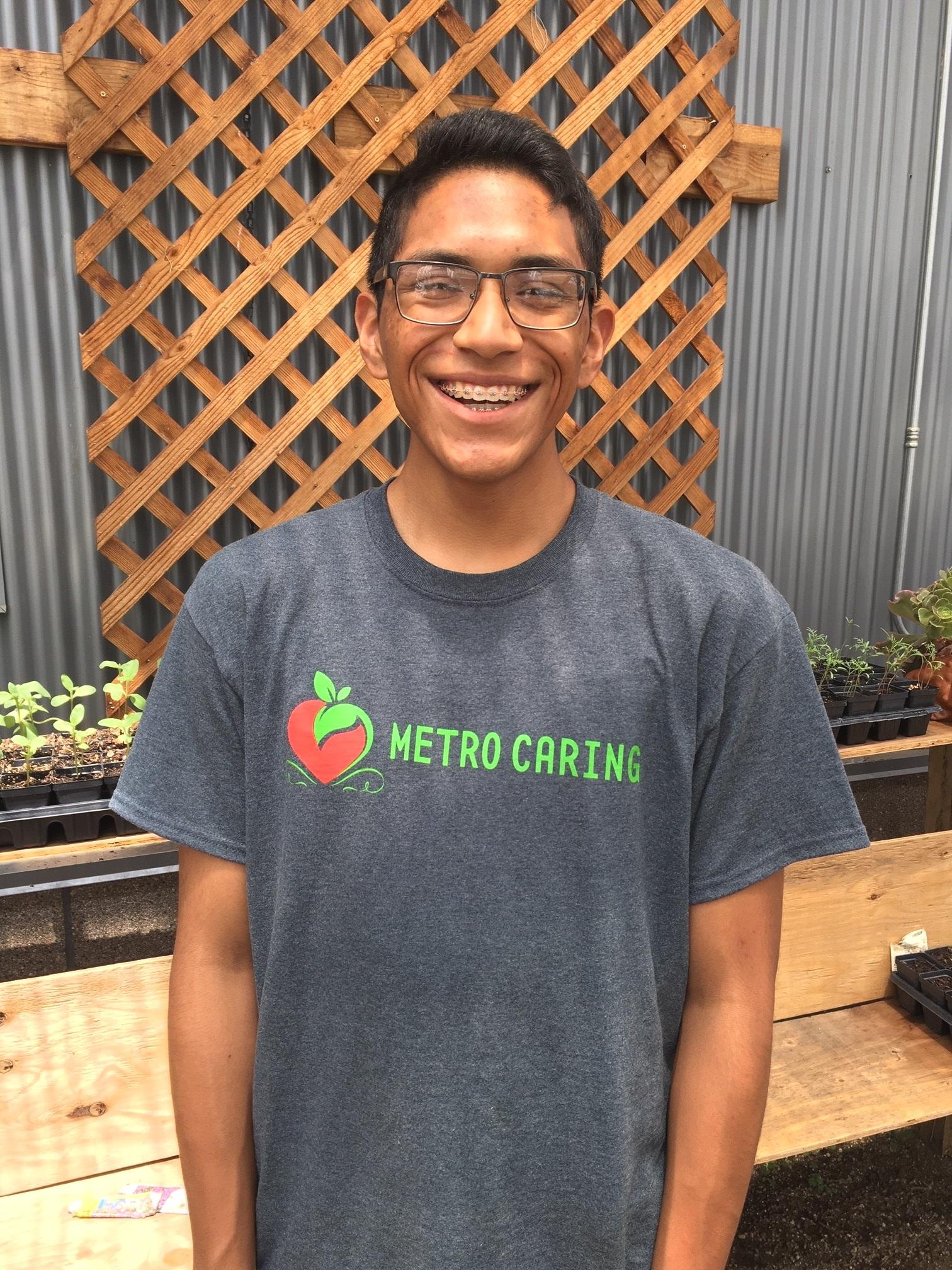 Steven Valle-Valdez , Warehouse and Market Assistant