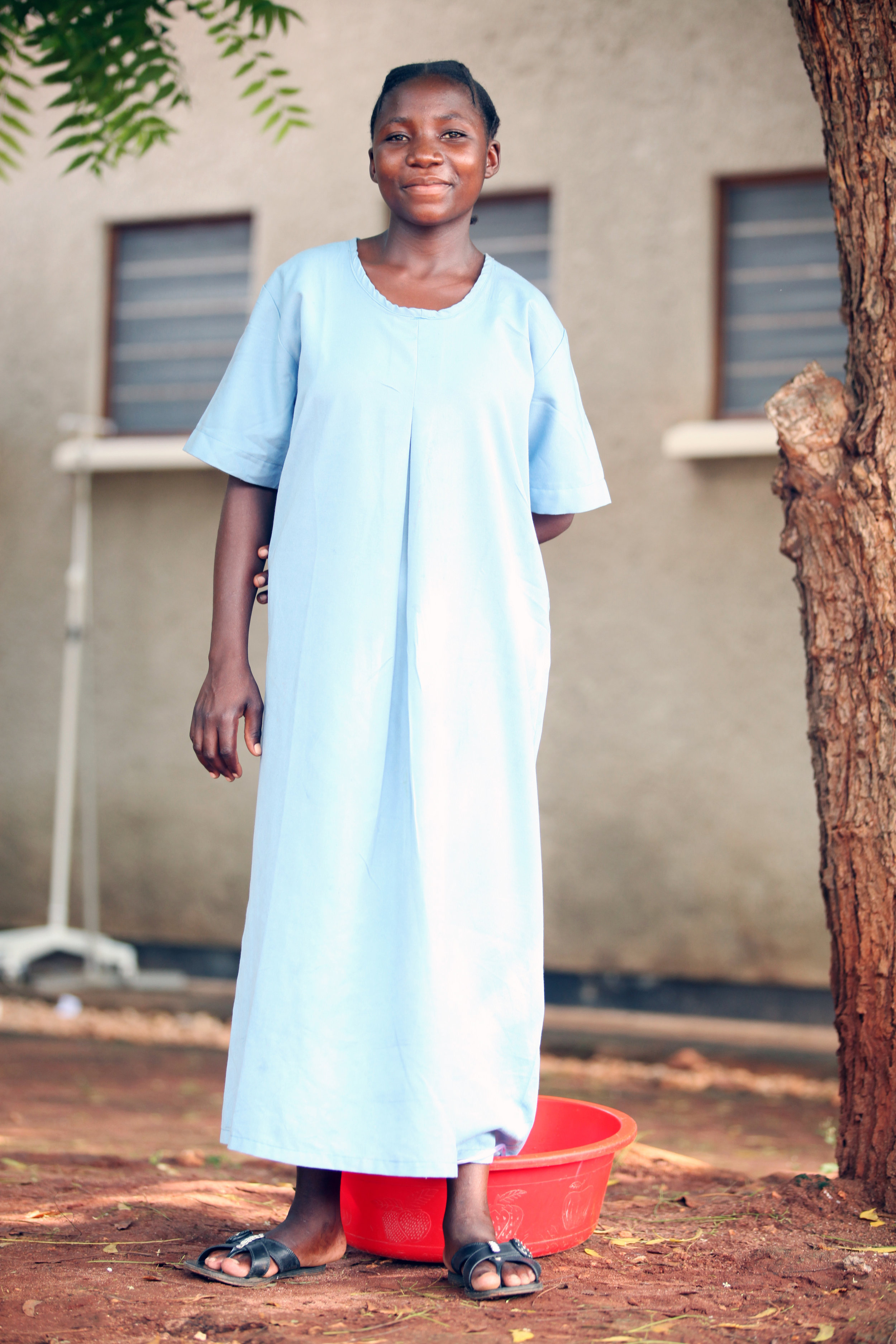 Recovering from fistula surgery. Photo credit: Benjamin Eagle