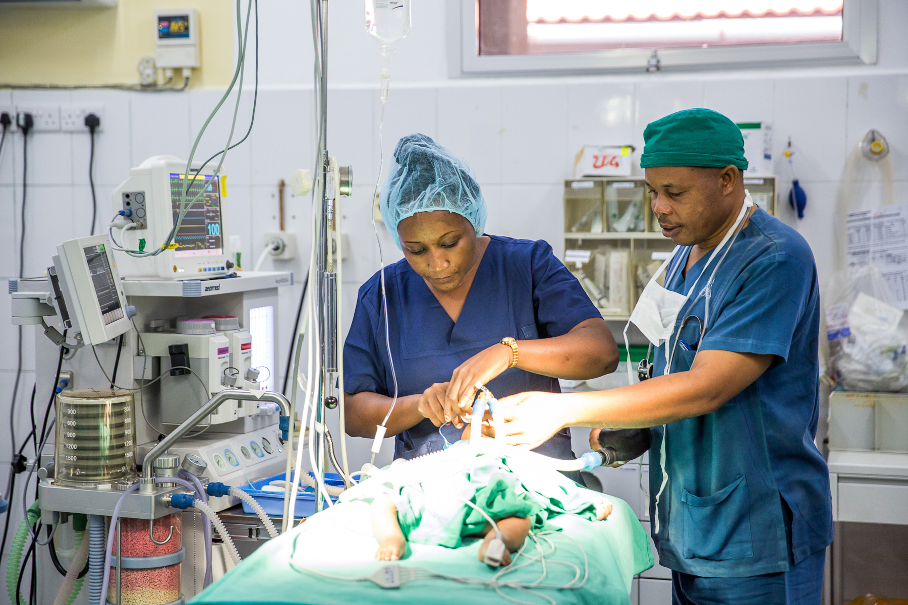 There are major shortages of skilled anesthesiologists in Tanzania. Photo credit: Sala Lewis