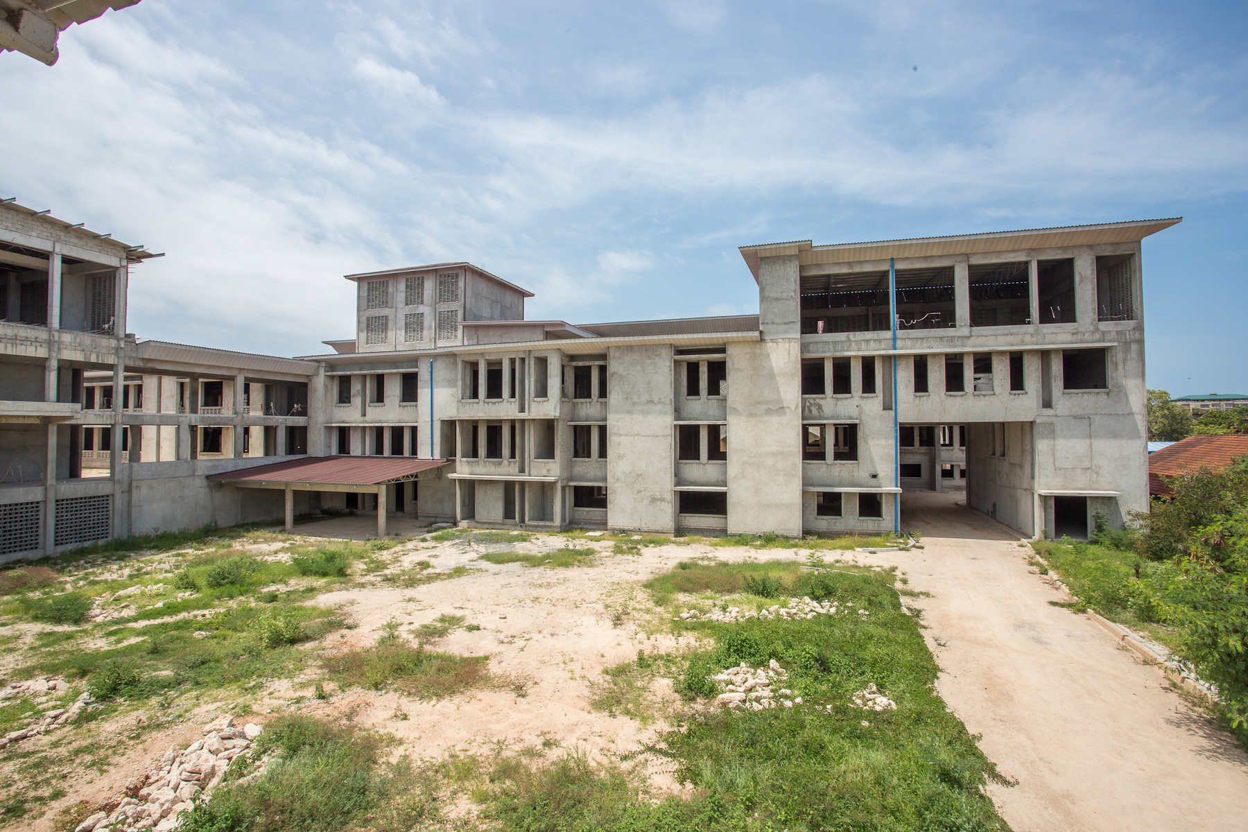 CCBRT Maternity and Newborn Hospital, due to open in 2019. Photo credit: Sala Lewis