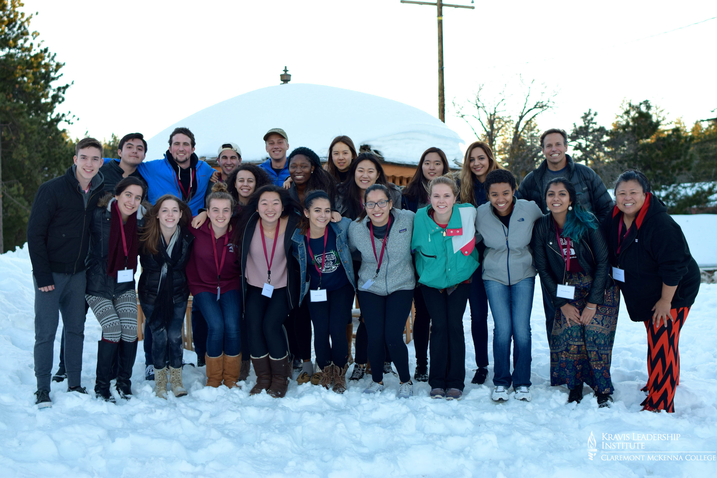 GROUP PHOTO: of the team of students and staff that participated in the retreat.