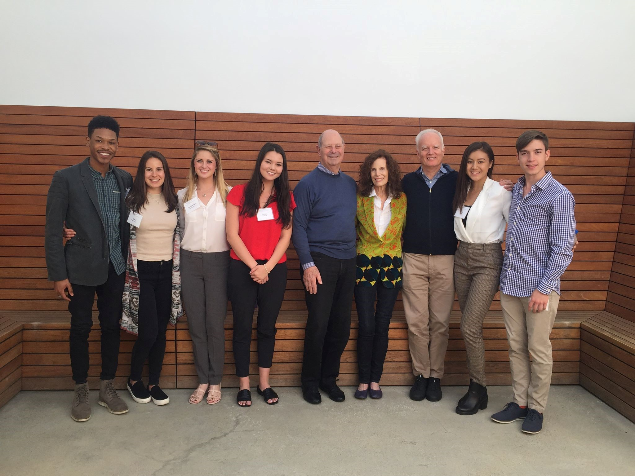 Students with Mandy and Cliff Einstein