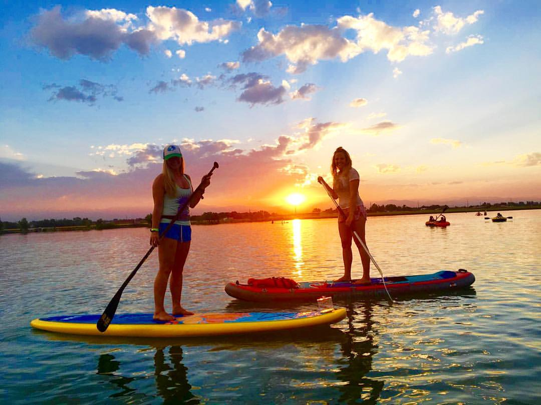Meet MAry on the water - Stand Up Paddleboarding and SUP Yoga with Mary Susan on the lake, ocean, river, or pool.