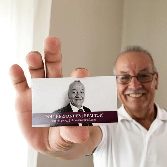 New business cards in and in love with our in-house designer! ___________ #realty #realestate #realestateagent #realestateinvestor #losangeles #la #lalaland #lacresenta #montrose #silverlake #ktown #nela #losfeliz #highlandpark #forsale #bhhs #policarpteam #ask #design #businesscards #business #brand #berkshirehathaway #polihernandez