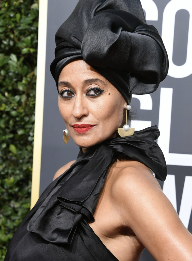 Tracee Ellis Ross - Just when I was regaining my breath from Jessica Chastain's red lip, Ms. Ross took it AWAY. DAMN. HELLO, QUEEN WITH THE PEARL EARRING! Someone do an oil painting of this lewk and I will hang it above my fireplace and meditate under it every day. This is pure beauty, elegance, grace, and power in one woman! Confidence is something you cannot get in a jar, honey, and it's the first thing we should all put on when getting ready!