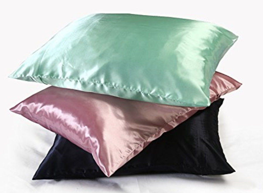 Satin Pillowcases (Amazon!)