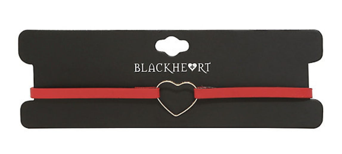 our heart choker (From Hot Topic of course)
