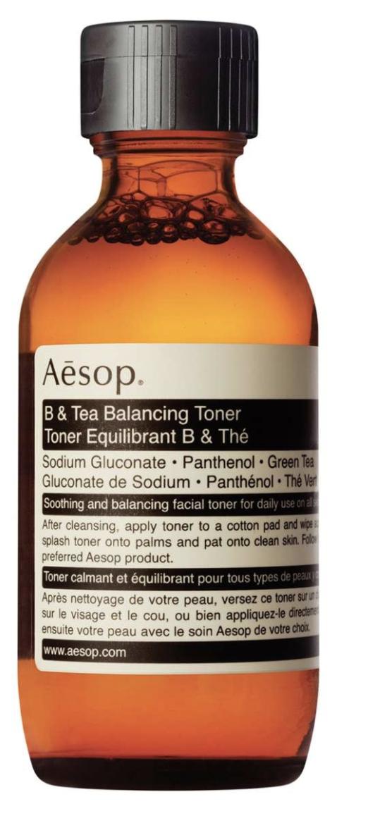 Aesop b& tea toner