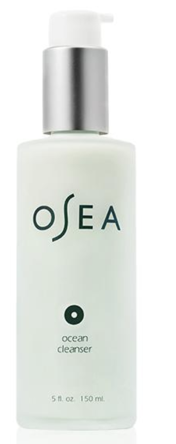 Osea Ocean cleanser - This smells EXACTLY like Lime skittles. I wash my face with this every morning, and night if I didn't wear makeup that day. It's so soothing and glamorous. I love it! No wonder it is one Osea's top sellers.
