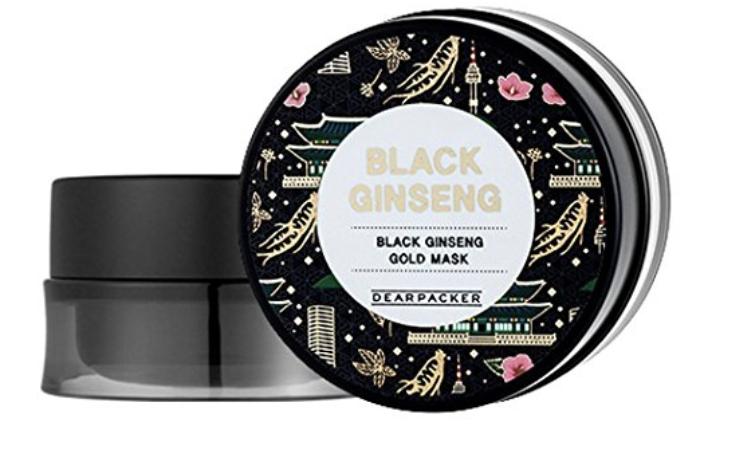 DearPacker Black Ginseng Gold Mask