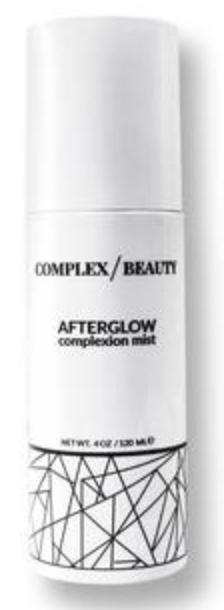Complex beauty afterglow complexion mist: CODE NATCH!
