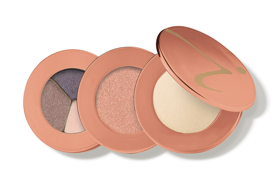 Jane Iredale snap happy makeup stack
