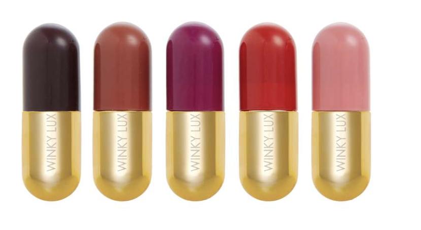 Mini Chooch pill lipsticks in a pack