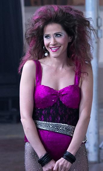 "Jackie Tohn as Melrose on Netflix's ""GLOW"""