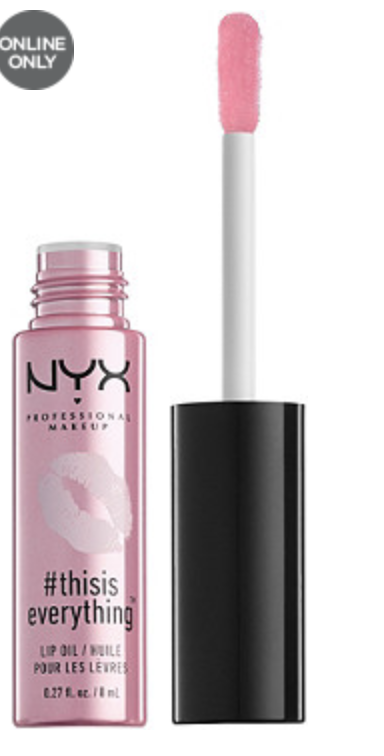 NYX this is everything lip oil