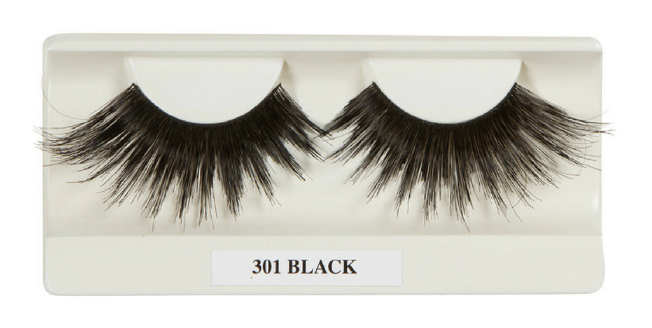 301 black lashes