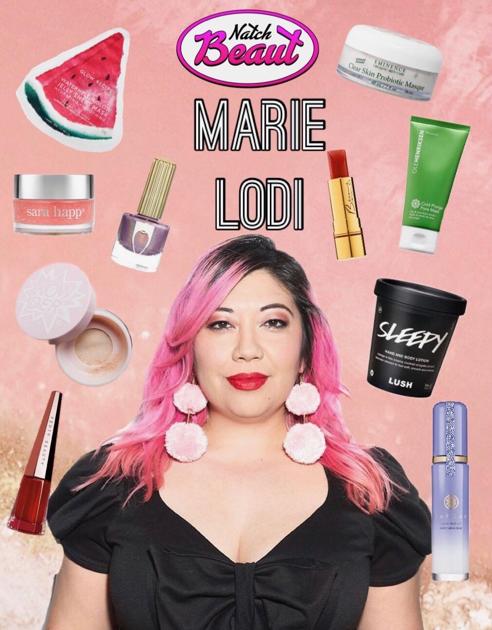 Beauty Editor Marie Lodi