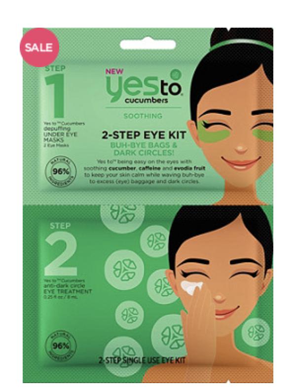 Yes to Cucumbers 2 Step Eye kit