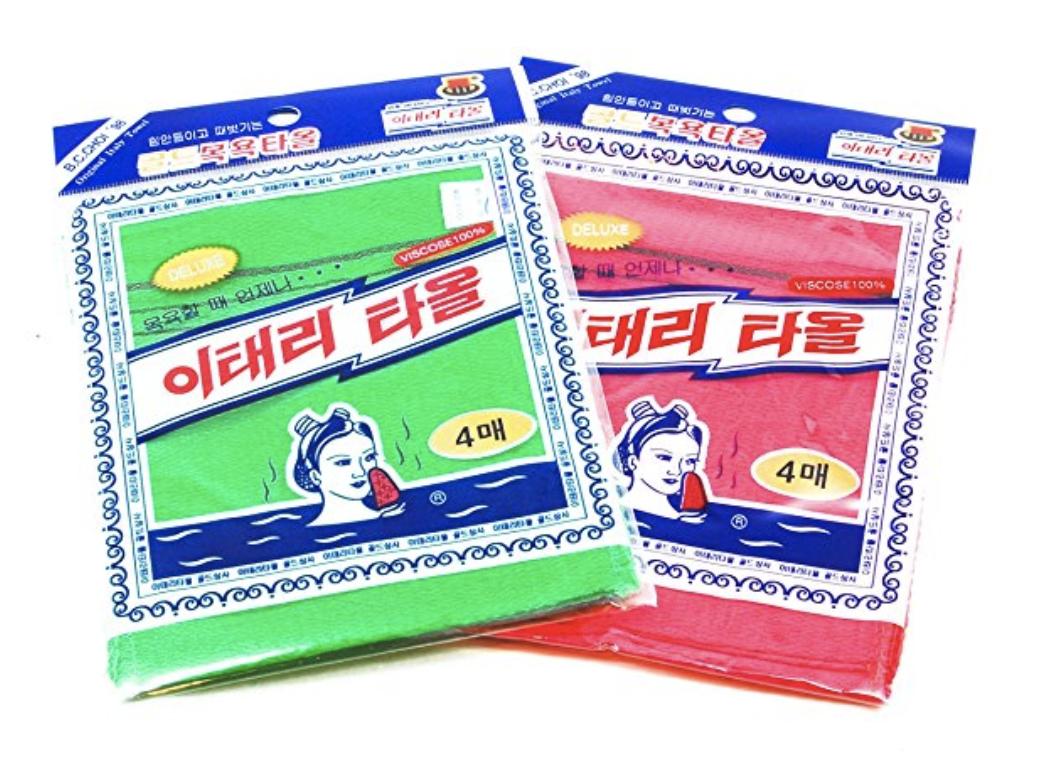 Korean exfoliating cloth