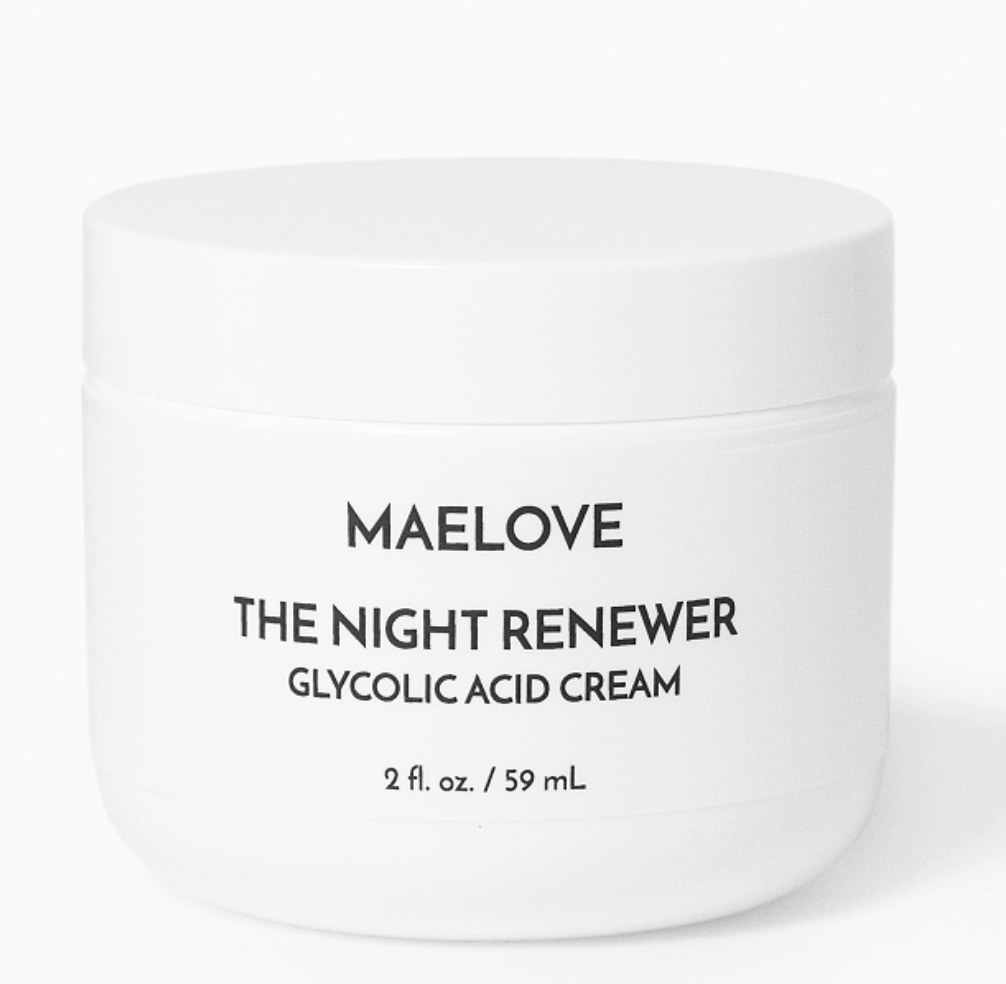 Maelove Night Renewer glycolic cream