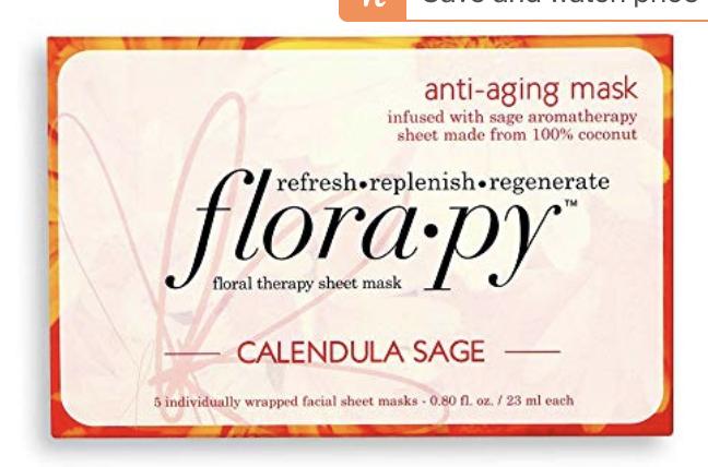 Florapy anti aging sheet mask