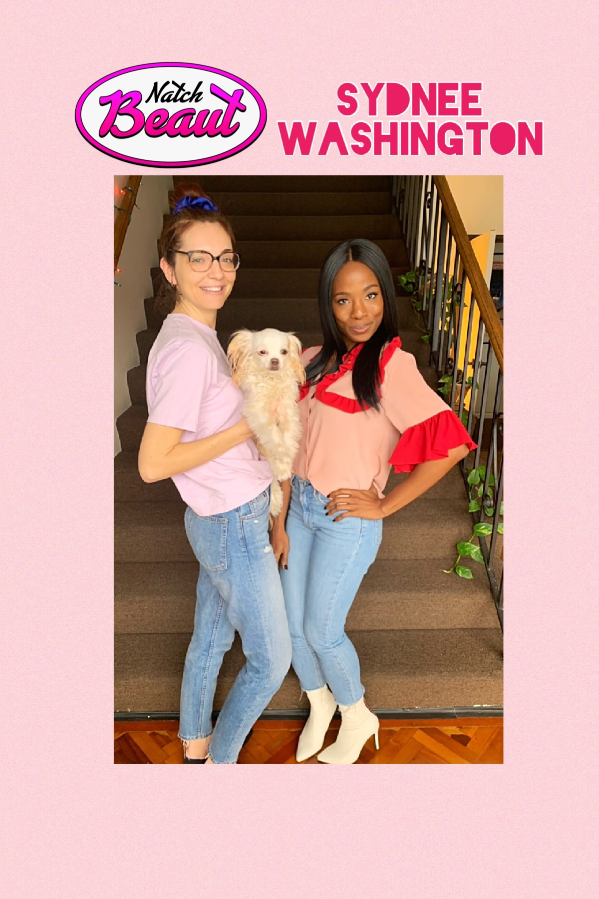 Jackie Johnson, the Chooch, and Sydnee Washington