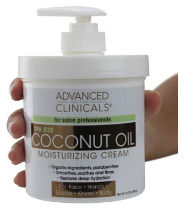 Advanced clinicals coconut lotion