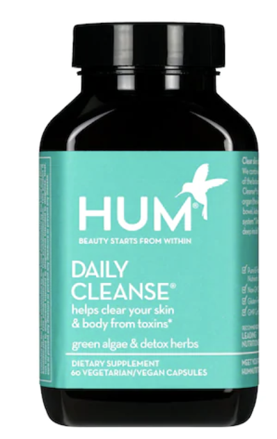 Hum nutrition Daily cleanse detox supplements