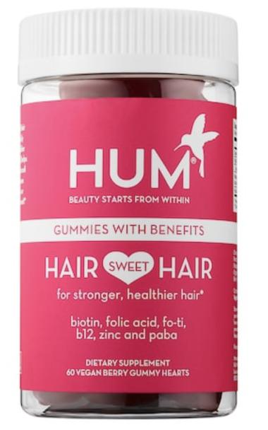 Hum nutrition Hair sweet Hair vegan gummies