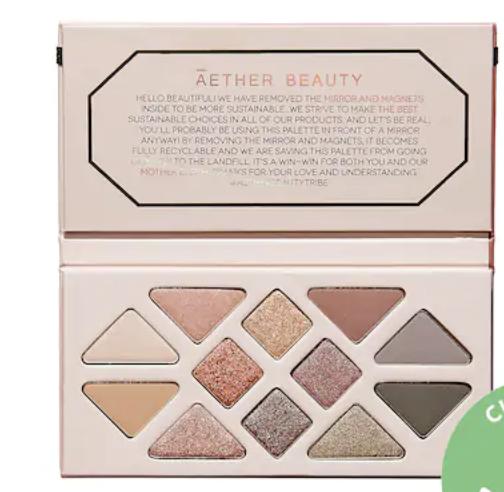 Aether Beauty rose quartz palette