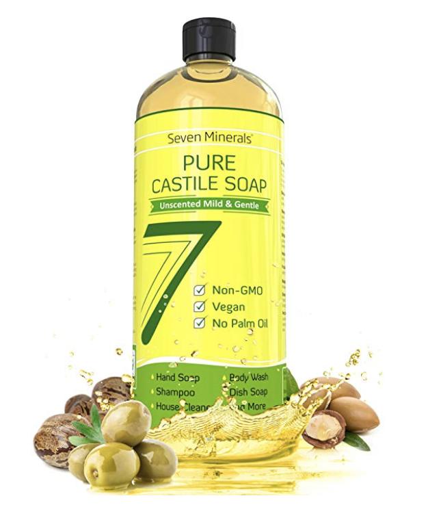 Seven Minerals Castille soap