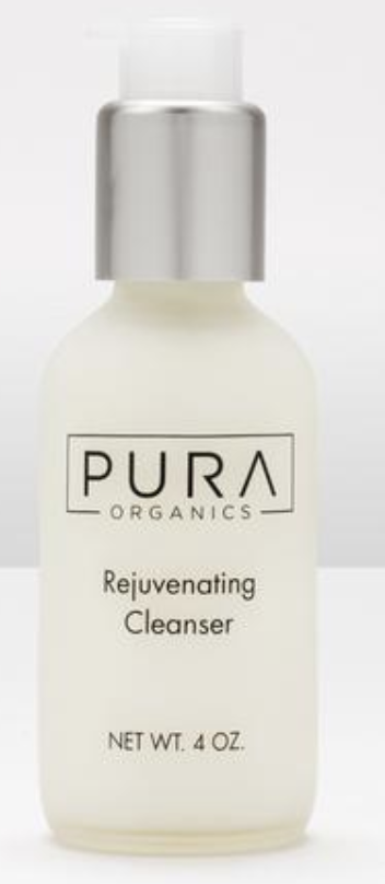 Pura organics rejuvenating cleanser