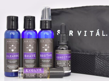 Source Vital Apothecary - Yummy scents made with essential oils, classic packaging, and they just launched their Sir Vital line, perfect for 1880's male aristocrats!
