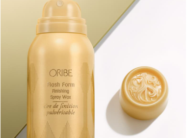 Oribe Flash Form finishing spray wax - A wax mist that adds style, separation and sheen to short cuts and long hair, too.